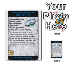 Warhammer Quest 3 By Kieren   Multi Purpose Cards (rectangle)   Ms3rzklkgu3t   Www Artscow Com Front 5