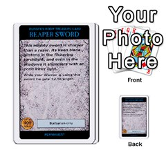 Warhammer Quest 3 By Kieren   Multi Purpose Cards (rectangle)   Ms3rzklkgu3t   Www Artscow Com Front 41