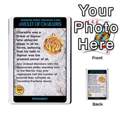 Warhammer Quest 2 By Kieren   Multi Purpose Cards (rectangle)   L3an5b4sp9nt   Www Artscow Com Front 1