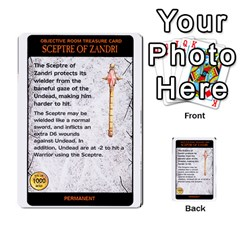 Warhammer Quest 2 By Kieren   Multi Purpose Cards (rectangle)   L3an5b4sp9nt   Www Artscow Com Front 6