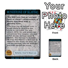 Warhammer Quest 2 By Kieren   Multi Purpose Cards (rectangle)   L3an5b4sp9nt   Www Artscow Com Front 53