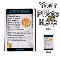 Warhammer Quest 2 By Kieren   Multi Purpose Cards (rectangle)   L3an5b4sp9nt   Www Artscow Com Front 10