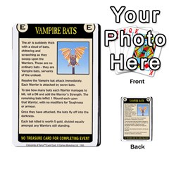 Warhammer Quest 2 By Kieren   Multi Purpose Cards (rectangle)   L3an5b4sp9nt   Www Artscow Com Front 28