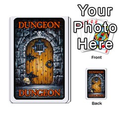 Warhammer Quest 2 By Kieren   Multi Purpose Cards (rectangle)   L3an5b4sp9nt   Www Artscow Com Back 35