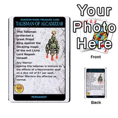Warhammer Quest 2 By Kieren   Multi Purpose Cards (rectangle)   L3an5b4sp9nt   Www Artscow Com Front 5