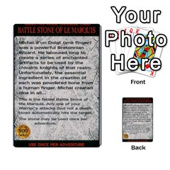 Warhammer Quest 2 By Kieren   Multi Purpose Cards (rectangle)   L3an5b4sp9nt   Www Artscow Com Front 45