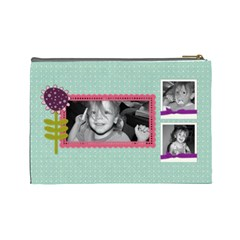Lg Spring Cosmetic Bag 2 By Martha Meier   Cosmetic Bag (large)   X61de4gixzab   Www Artscow Com Back