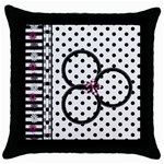 BWP Pillowcase 2 - Throw Pillow Case (Black)