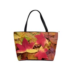 Autumn Leaves Shoulder Bag By Bags n Brellas   Classic Shoulder Handbag   S5vc28p2j08w   Www Artscow Com Front