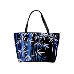 Blue Bamboo Shoulder Bag By Bags n Brellas   Classic Shoulder Handbag   I05cxakwew7p   Www Artscow Com Front