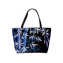 Blue Bamboo Shoulder Bag By Bags n Brellas   Classic Shoulder Handbag   I05cxakwew7p   Www Artscow Com Back