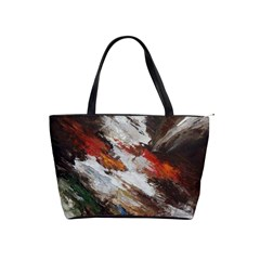 Abstract Paint Shoulder Bag By Bags n Brellas   Classic Shoulder Handbag   Gyfvwg093ys1   Www Artscow Com Front