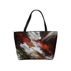 Abstract Paint Shoulder Bag By Bags n Brellas   Classic Shoulder Handbag   Gyfvwg093ys1   Www Artscow Com Back