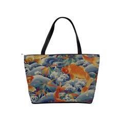 Koi Orange Shoulder Bag By Bags n Brellas   Classic Shoulder Handbag   Jkyduaskk29f   Www Artscow Com Back