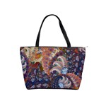 BLUE SPIRALS   shoulder bag - Classic Shoulder Handbag