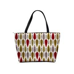 Fall Leaves Shoulder Bag By Bags n Brellas   Classic Shoulder Handbag   E49xbtdo2tva   Www Artscow Com Back