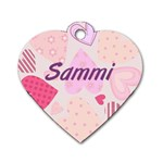 Sammi - Dog Tag Heart (Two Sides)