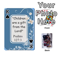 King Family Cards By Charis Balyeat   Playing Cards 54 Designs   Inj0nlgo0lwl   Www Artscow Com Front - SpadeK