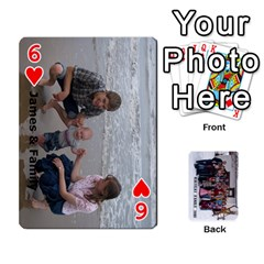 Family Cards By Charis Balyeat   Playing Cards 54 Designs   Inj0nlgo0lwl   Www Artscow Com Front - Heart6