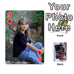 Family Cards By Charis Balyeat   Playing Cards 54 Designs   Inj0nlgo0lwl   Www Artscow Com Front - Diamond9