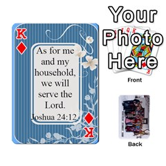 King Family Cards By Charis Balyeat   Playing Cards 54 Designs   Inj0nlgo0lwl   Www Artscow Com Front - DiamondK