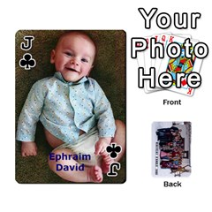 Jack Family Cards By Charis Balyeat   Playing Cards 54 Designs   Inj0nlgo0lwl   Www Artscow Com Front - ClubJ