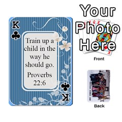 King Family Cards By Charis Balyeat   Playing Cards 54 Designs   Inj0nlgo0lwl   Www Artscow Com Front - ClubK
