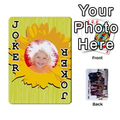 Family Cards By Charis Balyeat   Playing Cards 54 Designs   Inj0nlgo0lwl   Www Artscow Com Front - Joker1
