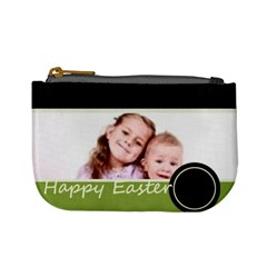 Happy Easter By Wood Johnson   Mini Coin Purse   Xjrj73h4610g   Www Artscow Com Front