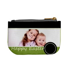 Happy Easter By Wood Johnson   Mini Coin Purse   Xjrj73h4610g   Www Artscow Com Back