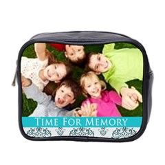 Time For Memory By Wood Johnson   Mini Toiletries Bag (two Sides)   M4gtlk5s97oq   Www Artscow Com Front