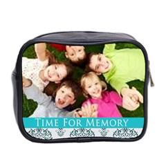 Time For Memory By Wood Johnson   Mini Toiletries Bag (two Sides)   M4gtlk5s97oq   Www Artscow Com Back
