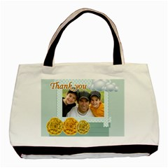 Thank You By Joely   Basic Tote Bag (two Sides)   7fw7g3bqq9yh   Www Artscow Com Back