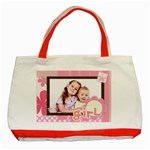 Girl - Classic Tote Bag (Red)