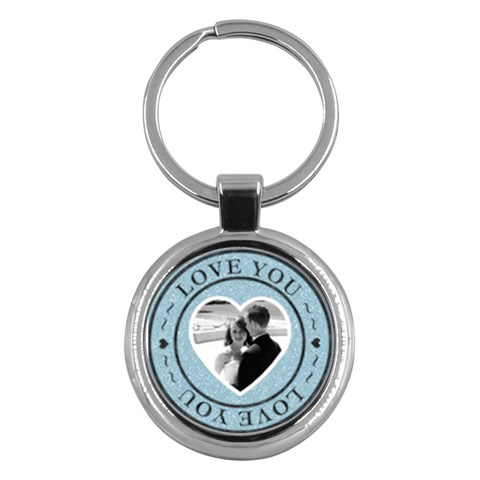 Love You Round Key Chain By Lil    Key Chain (round)   Rhob1xn1gwrr   Www Artscow Com Front