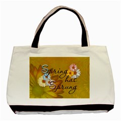 Spring Has Sprung 2 Sided Classic Tote Bag By Lil    Basic Tote Bag (two Sides)   5ttb8mc1t3yu   Www Artscow Com Front