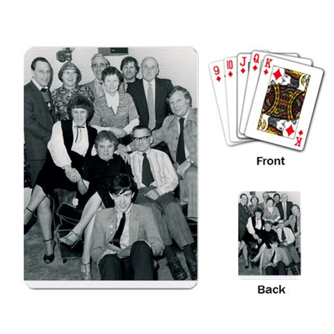 Family By Patricia Plunkett   Playing Cards Single Design   Qztog6k6m9mg   Www Artscow Com Back