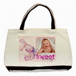 Sweet Nothings Baby Girl Double sided tote - Basic Tote Bag (Two Sides)