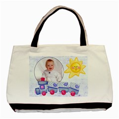 Cute As A Button Baby Boy Double Sided Tote By Catvinnat   Basic Tote Bag (two Sides)   Xhsqjdkgk3lt   Www Artscow Com Back