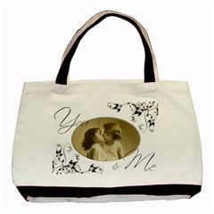 You & Me, Together Forever Double Sided Tote Bag By Catvinnat   Basic Tote Bag (two Sides)   Lb81tbufvi3i   Www Artscow Com Back