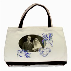 Just Married Double Sided Tote Bag By Catvinnat   Basic Tote Bag (two Sides)   Fvw9z5c19g60   Www Artscow Com Back