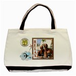 Relaxing Vacation 2-Sided Tote Bag - Basic Tote Bag (Two Sides)