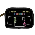 I live for moments like these - Camera case - Digital Camera Leather Case