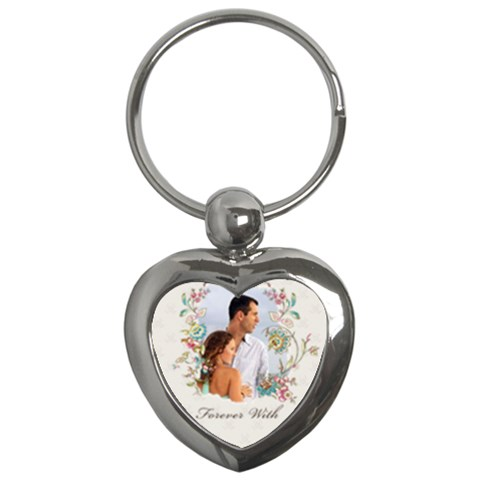 Forever With By Wood Johnson   Key Chain (heart)   Y31ljkgt4dao   Www Artscow Com Front