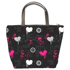 Pink Skull6 Bucket Bag By Bags n Brellas   Bucket Bag   Ckuswlkxiflu   Www Artscow Com Back
