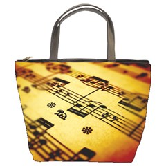 Sheet Music1 Bucket Bag By Bags n Brellas   Bucket Bag   8u8vyoi3soh2   Www Artscow Com Front