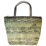 sheet music5 bucket bag