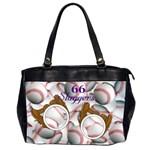 baseball bag 2 - Oversize Office Handbag (2 Sides)