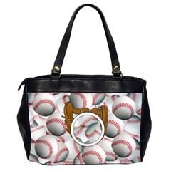 Baseball Bag 2 By Ellen   Oversize Office Handbag (2 Sides)   1p9ymj8f8zin   Www Artscow Com Back