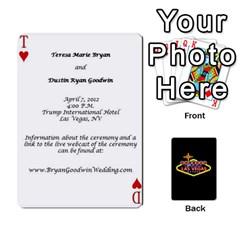 Wedding Invites By Teresa Bryan   Playing Cards 54 Designs   Ug0hkuf879ku   Www Artscow Com Front - Joker1